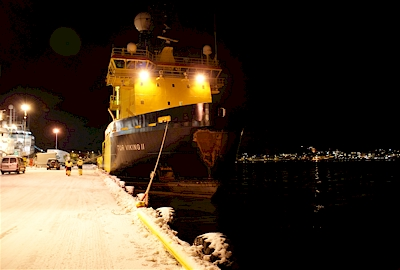 GAC in partnership with TransAtlantic - ice-breaker Tor Viking II at Hammerfest